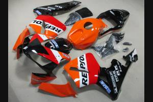 Carene stradali in abs verniciate compatibili con Honda CBR 600 RR 2003 - 2004 - MXPCAV3055
