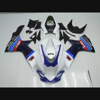 Painted street fairings in abs compatible with Suzuki Gsxr 600/750 2011 - 2018 - MXPCAV3126