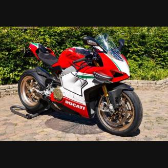 Complete and painted fairings in abs Ducati Panigale V4R for Akrapovic exhaust DUC V4R SP