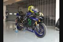 Lackierte Rennverkleidung Yamaha R6 2017 - 2019 - MXPCRV12389