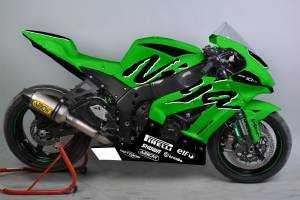 Painted Race Fairings Kawasaki Zx10R 2016 - 2019 - MXPCRV12261