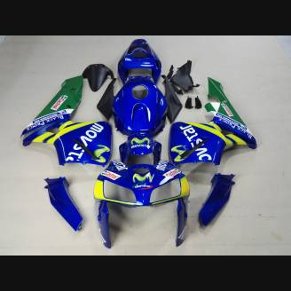 Painted street fairings in abs compatible with Honda CBR 600 RR 2005 - 2006 - MXPCAV1551