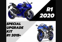 Kit trasformazione Racing Yamaha R1 2015 - 2019 a R1 2020 +copriserbatoio+ganci+ viti+telaietto anteriore -MXPCRD7293