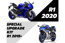 Renn Verwandlung Kit YAMAHA R1 2015 - 2019 to R1 2020 +Tankabdeckung+ Fasteners+Screws+Front race frame  MXPCRD7293