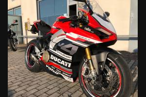 Painted street fairings in abs compatible with Ducati Panigale V4 V4S for Akrapovic exhaust - MXPCAV11947