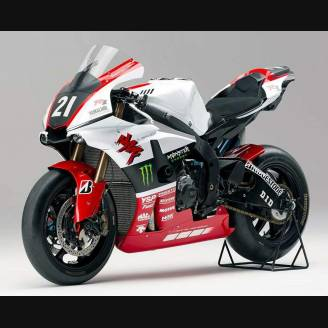 Complete and painted fairings Yamaha R1 2015 - 2018 YAMR17 ED18