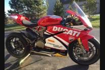 Lackierte Straße Verkleidung auf ABS kompatibel mit Ducati 899 1199 Panigale - MXPCAV12689