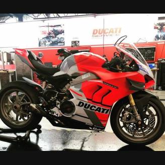 Painted Race Fairings Ducati Panigale V4 R 2019 - 2020 Matt Fluo - MXPCRV12412