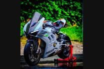 Lackierte Straße Verkleidung auf ABS mit Ducati Panigale V4 V4S fur Akrapovic Auspuff  2020 - 2021 - MXPCAV12702