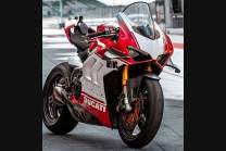 Carenados en abs pintados para la calle con Ducati Panigale V4 V4S para escape Akrapovic 2020 - 2021 - MXPCAV12704