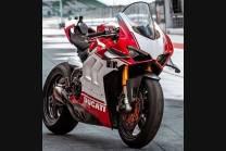Lackierte Straße Verkleidung auf ABS mit Ducati Panigale V4 V4S fur Akrapovic Auspuff  2020 - 2021 - MXPCAV12704