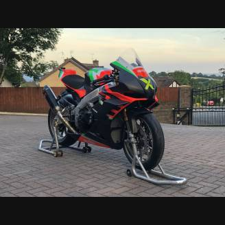 Complete race and painted fairings Aprilia RSV4 2015 - 2020 fluo matt finish  - MXPCRV11898