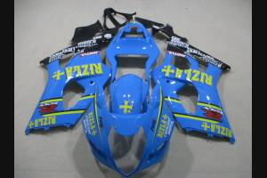 Painted street fairings in abs compatible with Suzuki Gsxr 1000 2003 - 2004 - MXPCAV3251