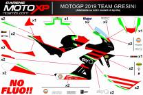 Sticker set compatible with Aprilia RSV4 2015 - 2020 - MXPKAD12749