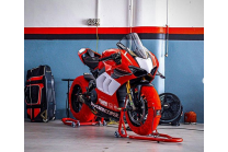 Painted Race Fairings Ducati Panigale V4 V4S 2020 with back seat Neoprene seat + screws, fasteners - MXPCRV12763