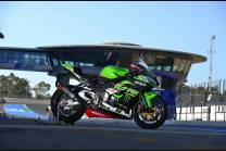Carene racing Kawasaki Zx10R 2016 - 2020 verniciate + viti con gommino, ganci rapidi MXPCRV12438