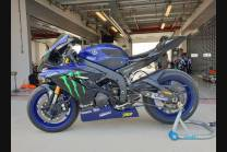 Carene racing Yamaha R6 2008 - 2016 verniciate + viti con gommino, ganci rapidi MXPCRV12449