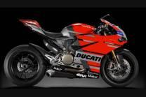Carene racing Ducati 959 1299 Panigale verniciate + viti con gommino, ganci rapidi MXPCRV12425