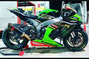 Painted Race Fairings Kawasaki Zx10R 2016 - 2020 -  MXPCRV12538