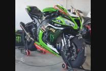 Carene racing Kawasaki Zx10R 2016 - 2020 verniciate + viti con gommino, ganci rapidi MXPCRV12828
