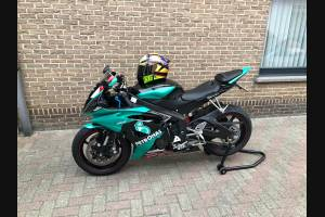 Painted street fairings in abs compatible with Yamaha R6 2006 - 2007 - MXPCAV12825