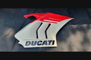 Painted Race Fairings Ducati Panigale V4 V4S 2020 - 2021 with back seat Neoprene seat + screws, fasteners - MXPCRV12773