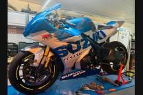 Carene Racing Verniciate Suzuki Gsxr 1000 2017 - 2021 + viti , ganci rapidi - MXPCRV12902