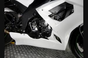 Kawasaki Zx10R 2008 - 2010 fairings without mudguard - MXPCRD2127