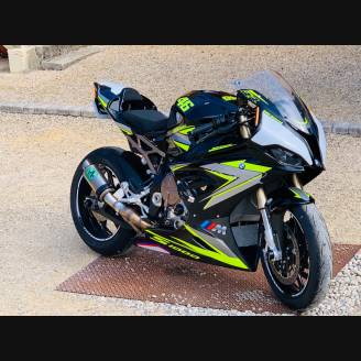 Painted street fairings in abs compatible with BMW S 1000 RR 2019 - 2021 - MXPCAV12981