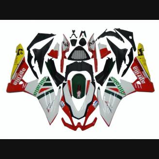 Painted street fairings in abs compatible with Aprilia RSV4 2009 - 2014 - MXPCAV2715