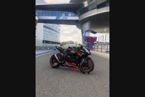 Carene racing Kawasaki Zx10R 2016 - 2020 verniciate + viti con gommino, ganci rapidi MXPCRV13157