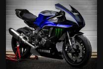 Painted Race Fairings Yamaha R1 2020 - 2021 + screws, fasteners -MXPCRV13208