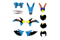 Sticker set compatible with per KTM EXC EXCF XCW 125 250 350 450 2014 2015 2016 - MXPKAD13217