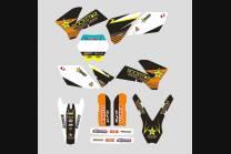 Sticker set compatible with per KTM SX 125 200 250 300 350 450 2013 2016 - MXPKAD13380