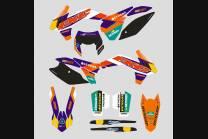 Sticker set compatible with per KTM EXC EXC-F 200 250 300 350 450  2020 - 2021  - MXPKAD13383
