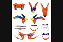 Sticker set compatible with per KTM EXC EXC-F 125 200 250 350 450 2012 - 2013 - MXPKAD13430