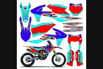 Kit adesivi compatibile con per KTM EXC EXC-F 200 250 300 350 450  2017 - 2019  - MXPKAD13450