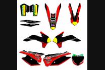 Sticker set compatible with per KTM SX 125 200 250 300 350 450 2013 2016 - MXPKAD13495
