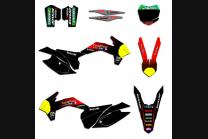 Sticker set compatible with per KTM SXF 125 200 250 300 350 450 2013 2015 - MXPKAD13512