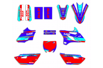 Sticker set compatible with per YAMAHA YZ 85 2015 - 2021 - MXPKAD13275