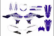 Kit Autocollants compatible avec per YAMAHA YZF 450 2018 - 2021 - MXPKAD13565