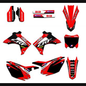 Sticker set compatible with per Honda CRF 250 2014 - 2017  - MXPKAD13574