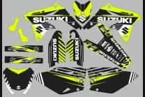 Kit Autocollants compatible avec per SUZUKI RMZ 450 2008 - 2017  - MXPKAD13781