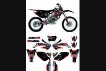 Kit Autocollants compatible avec per Honda CRFX 450 2004 - 2018 - MXPKAD13268