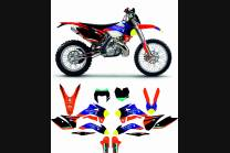 Sticker set compatible with per KTM EXC EXC-F 125 200 250 300 350 450 2014 - 2015 - MXPKAD13814