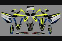 Kit Autocollants compatible avec per HUSQVARNA TE 150/250/300  FE 250/350/450/501 2020 - 2021  - MXPKAD13688
