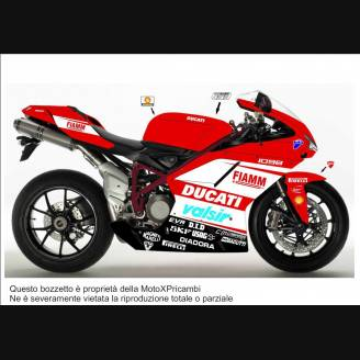 Adhesive Series Stickers compatible DUCATI 748 Superbike