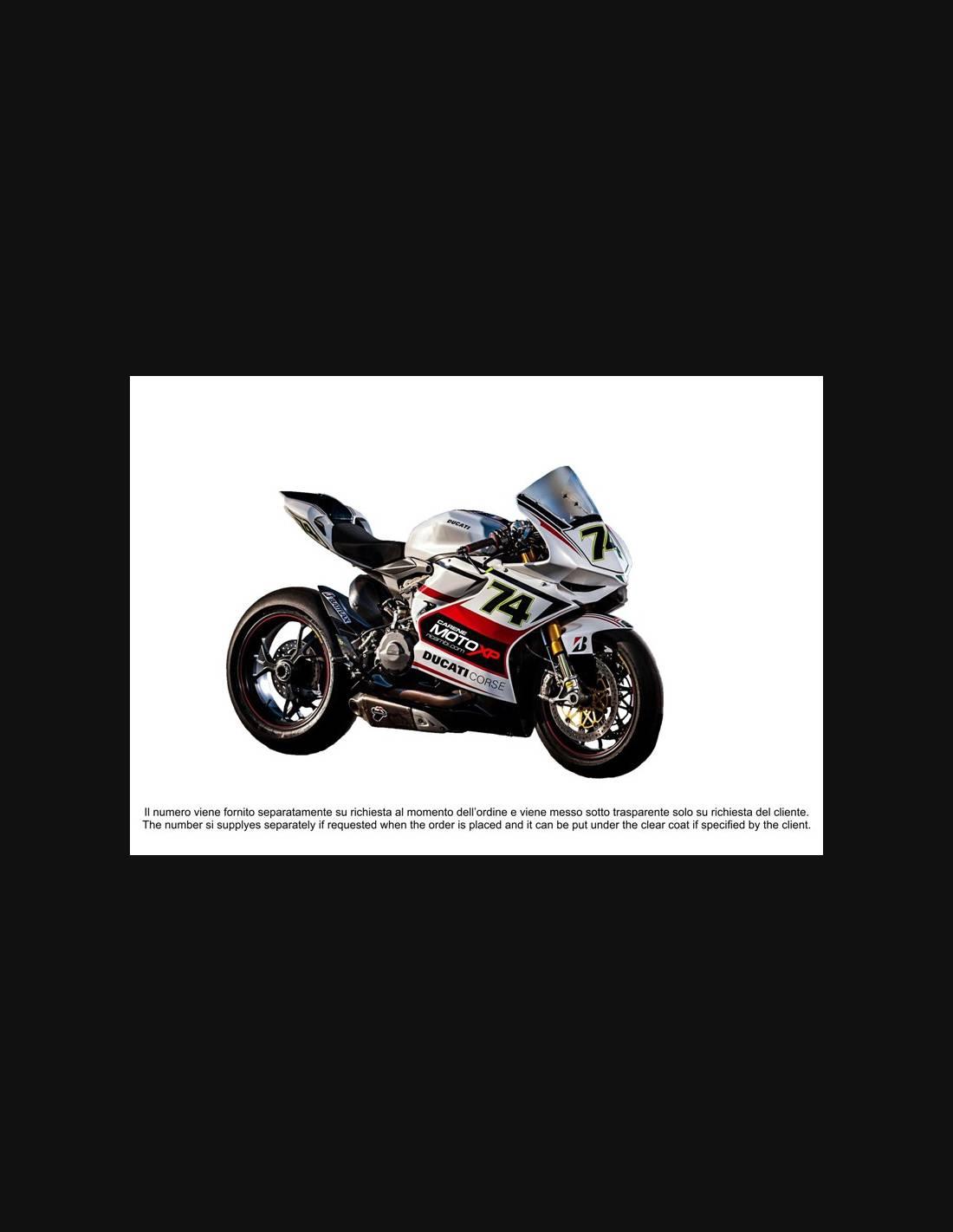 Plexiglas trasparente per cafè racer custom vintage classic motorcycle