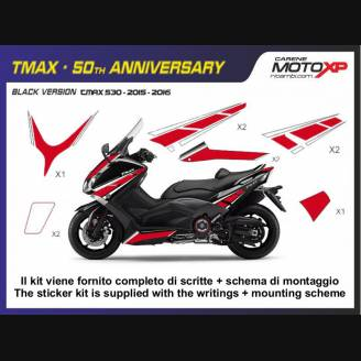 Sticker Set Compatible With Yamaha T Max 530 2015 2016 Mxpkay6500